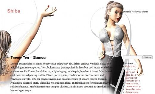 Twenty Ten - Glamour Theme