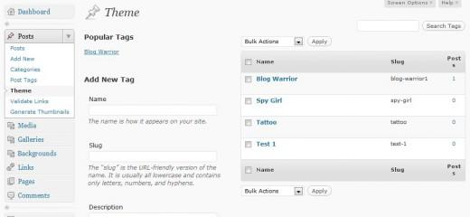 Step 2 - Modify Custom Taxonomy Columns