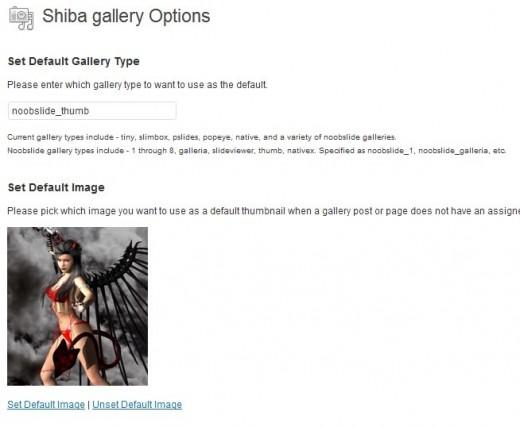 Shiba Gallery Set Default Image Page